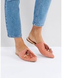 rosa Pantoletten von Glamorous