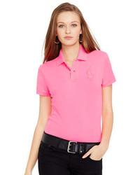 rosa Polohemd