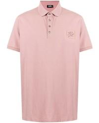 rosa Polohemd von Karl Lagerfeld