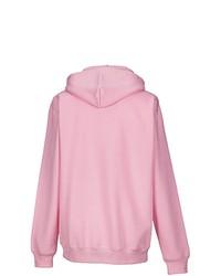 rosa Pullover mit einem Kapuze von Russell