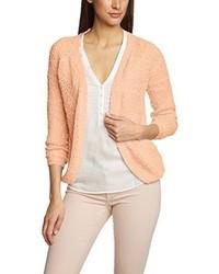 rosa Pullover mit einem V-Ausschnitt von Only