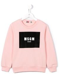 rosa Pullover von MSGM
