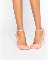 rosa Pumps von Asos