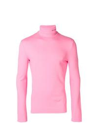 rosa Rollkragenpullover von Calvin Klein 205W39nyc