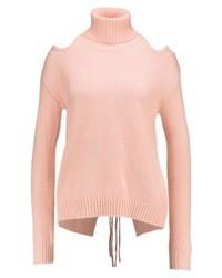 rosa Rollkragenpullover von Glamorous