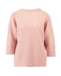 rosa Rollkragenpullover von KIOMI
