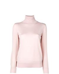 rosa Rollkragenpullover von Tory Burch