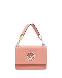 rosa Satchel-Tasche aus Leder von Fendi