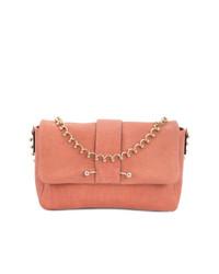 rosa Satchel-Tasche aus Leder von RED Valentino