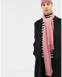 rosa Schal von ASOS DESIGN