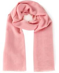 rosa Schal von Denis Colomb