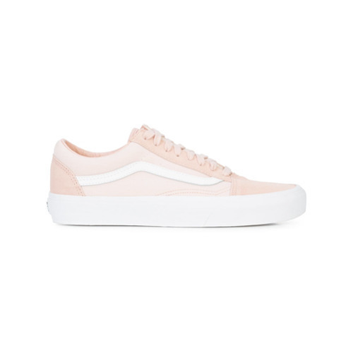 rosa Segeltuch niedrige Sneakers von Vans