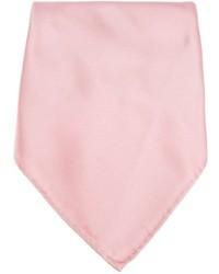 rosa Seide Einstecktuch von Lanvin