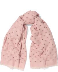 rosa Seideschal von Valentino