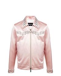 rosa Shirtjacke von DSQUARED2