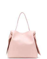 rosa Shopper Tasche aus Leder von Acne Studios