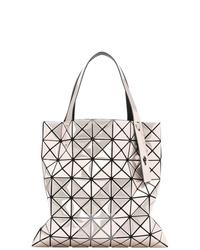 rosa Shopper Tasche aus Leder von Bao Bao Issey Miyake