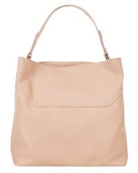 rosa Shopper Tasche aus Leder von CLUTY