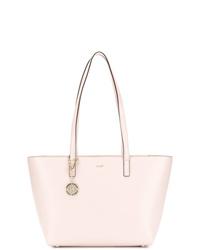 rosa Shopper Tasche aus Leder von DKNY