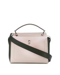 rosa Shopper Tasche aus Leder von Fendi