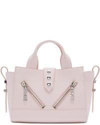 rosa Shopper Tasche aus Leder von Kenzo