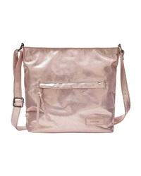 rosa Shopper Tasche aus Leder von Lascana