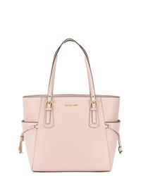 rosa Shopper Tasche aus Leder von MICHAEL Michael Kors