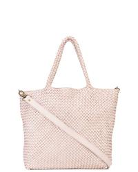 rosa Shopper Tasche aus Leder von Officine Creative