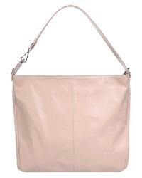 rosa Shopper Tasche aus Leder von SAMANTHA LOOK