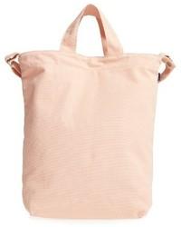 rosa Shopper Tasche aus Segeltuch