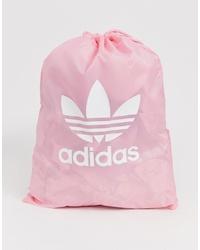 rosa Shopper Tasche aus Segeltuch von adidas
