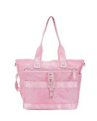 rosa Shopper Tasche aus Segeltuch von George Gina & Lucy