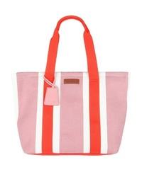 rosa Shopper Tasche aus Segeltuch von Marc O'Polo