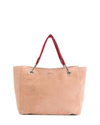 rosa Shopper Tasche aus Wildleder von Jimmy Choo