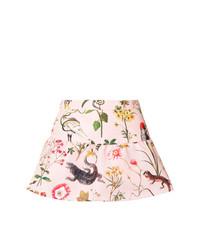 rosa Shorts mit Blumenmuster von RED Valentino