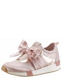 rosa Slip-On Sneakers aus Segeltuch von Tom Tailor