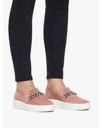 rosa Slip-On Sneakers von Bianco