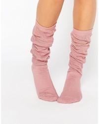 rosa Socken von Asos