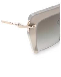rosa Sonnenbrille von Miu Miu