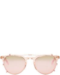rosa Sonnenbrille von Garrett Leight