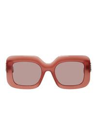 rosa Sonnenbrille von Loewe