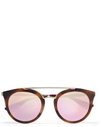 rosa Sonnenbrille von Prada