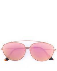 rosa Sonnenbrille von RetroSuperFuture
