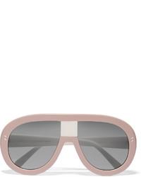rosa Sonnenbrille von Stella McCartney
