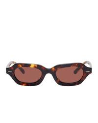 rosa Sonnenbrille von The Row