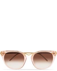 rosa Sonnenbrille von Thierry Lasry