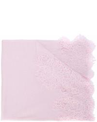 rosa Spitzeschal von Ermanno Scervino