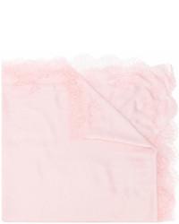 rosa Spitzeschal von Valentino