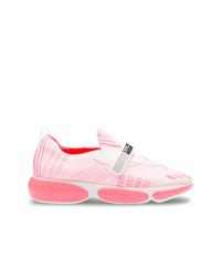 rosa Sportschuhe von Prada