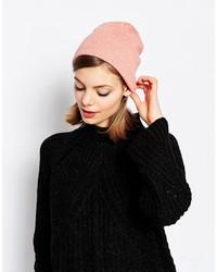 rosa Strick Mütze von Hat Attack